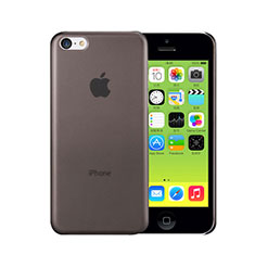 Housse Ultra Slim Mat Rigide Transparente pour Apple iPhone 5C Gris