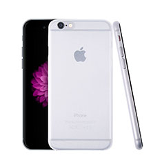 Housse Ultra Slim Mat Rigide Transparente pour Apple iPhone 6 Plus Blanc