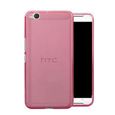 Housse Ultra Slim Silicone Souple Transparente pour HTC One X9 Rose