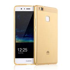 Housse Ultra Slim Silicone Souple Transparente pour Huawei G9 Lite Or