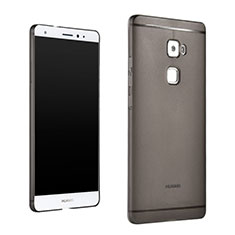 Housse Ultra Slim Silicone Souple Transparente pour Huawei Mate S Gris