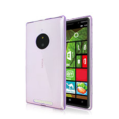Housse Ultra Slim Silicone Souple Transparente pour Nokia Lumia 830 Violet