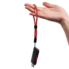 Laniere Bracelet Poignee Strap Universel K04 Rouge