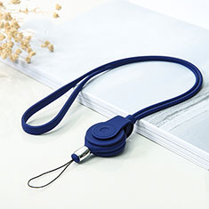 Laniere Bracelet Poignee Strap Universel K05 Bleu