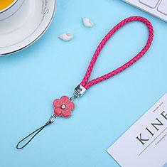 Laniere Bracelet Poignee Strap Universel K11 Rouge