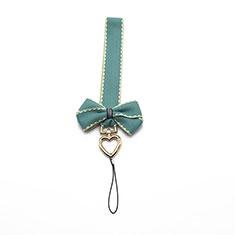 Laniere Bracelet Poignee Strap Universel W05 pour Wiko Cink Five Vert