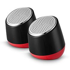Mini Haut-Parleur Enceinte Portable Haut Parleur S02 pour Nokia 3.1 Plus Noir