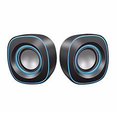 Mini Haut-Parleur Enceinte Portable Haut Parleur W02 pour Huawei MediaPad M5 8.4 SHT-AL09 SHT-W09 Noir
