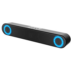 Mini Haut-Parleur Enceinte Portable Haut Parleur W03 pour Huawei MediaPad M5 8.4 SHT-AL09 SHT-W09 Noir