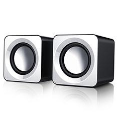 Mini Haut-Parleur Enceinte Portable Haut Parleur W04 pour Huawei Mate 40 Blanc