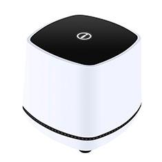 Mini Haut-Parleur Enceinte Portable Haut Parleur W06 pour Huawei Mate 40 Blanc