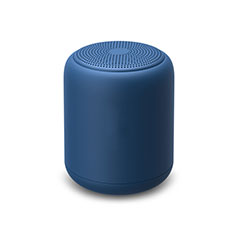 Mini Haut Parleur Enceinte Portable Sans Fil Bluetooth Haut-Parleur K02 pour Sony Xperia XZ2 Compact Bleu