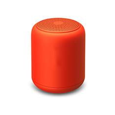 Mini Haut Parleur Enceinte Portable Sans Fil Bluetooth Haut-Parleur K02 pour Apple iPad Mini 5 2019 Rouge