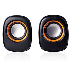 Mini Haut Parleur Enceinte Portable Sans Fil Bluetooth Haut-Parleur K04 pour Huawei Y6s Noir