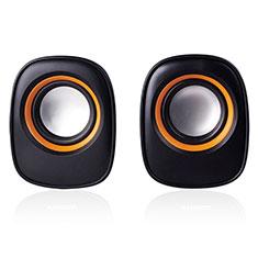 Mini Haut Parleur Enceinte Portable Sans Fil Bluetooth Haut-Parleur K04 pour Samsung Galaxy Tab A7 Wi Fi 10.4 SM-T500 Noir