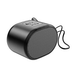 Mini Haut Parleur Enceinte Portable Sans Fil Bluetooth Haut-Parleur K06 pour Motorola Moto G Fast Noir