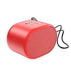 Mini Haut Parleur Enceinte Portable Sans Fil Bluetooth Haut-Parleur K06 pour Apple iPad Mini 5 2019 Rouge