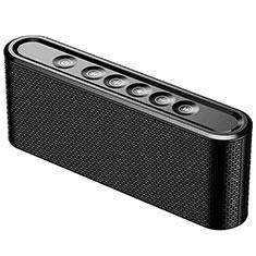 Mini Haut Parleur Enceinte Portable Sans Fil Bluetooth Haut-Parleur K07 pour Motorola Moto G Fast Noir