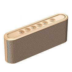 Mini Haut Parleur Enceinte Portable Sans Fil Bluetooth Haut-Parleur K07 pour Apple iPad Mini 5 2019 Or