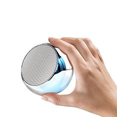 Mini Haut Parleur Enceinte Portable Sans Fil Bluetooth Haut-Parleur S03 pour Xiaomi Mi A2 Argent