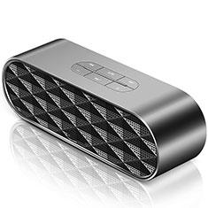 Mini Haut Parleur Enceinte Portable Sans Fil Bluetooth Haut-Parleur S08 pour Huawei MediaPad M5 8.4 SHT-AL09 SHT-W09 Noir