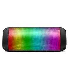 Mini Haut Parleur Enceinte Portable Sans Fil Bluetooth Haut-Parleur S11 pour Huawei MediaPad M5 8.4 SHT-AL09 SHT-W09 Noir