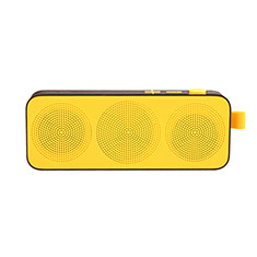 Mini Haut Parleur Enceinte Portable Sans Fil Bluetooth Haut-Parleur S12 pour Huawei Honor Magic 2 Jaune