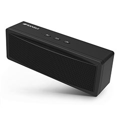 Mini Haut Parleur Enceinte Portable Sans Fil Bluetooth Haut-Parleur S19 pour Huawei MediaPad M5 8.4 SHT-AL09 SHT-W09 Noir