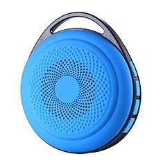 Mini Haut Parleur Enceinte Portable Sans Fil Bluetooth Haut-Parleur S20 pour Huawei Enjoy 9 Plus Bleu Ciel