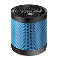 Mini Haut Parleur Enceinte Portable Sans Fil Bluetooth Haut-Parleur S21 pour Google Pixel 3 XL Bleu