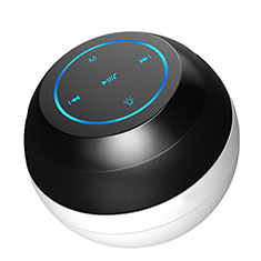 Mini Haut Parleur Enceinte Portable Sans Fil Bluetooth Haut-Parleur S22 pour Nokia 3.1 Plus Noir