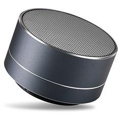 Mini Haut Parleur Enceinte Portable Sans Fil Bluetooth Haut-Parleur S24 pour Huawei MediaPad M5 8.4 SHT-AL09 SHT-W09 Noir