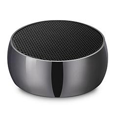 Mini Haut Parleur Enceinte Portable Sans Fil Bluetooth Haut-Parleur S25 pour Huawei MediaPad M5 8.4 SHT-AL09 SHT-W09 Noir