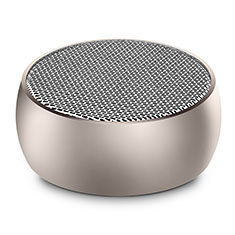 Mini Haut Parleur Enceinte Portable Sans Fil Bluetooth Haut-Parleur S25 pour Apple iPad New Air 2019 10.5 Or