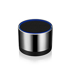 Mini Haut Parleur Enceinte Portable Sans Fil Bluetooth Haut-Parleur S27 pour Nokia 3.1 Plus Argent