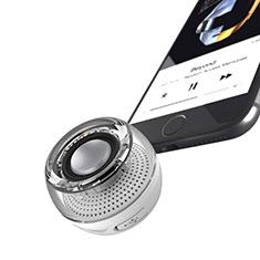 Mini Haut Parleur Enceinte Portable Sans Fil Bluetooth Haut-Parleur S28 pour Xiaomi Mi A2 Argent
