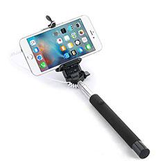 Perche de Selfie Filaire Baton de Selfie Cable Extensible de Poche Universel pour Huawei P Smart 2019 Noir