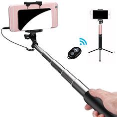 Perche de Selfie Sans Fil Bluetooth Baton de Selfie Extensible de Poche Universel S15 pour Google Pixel 3 Noir