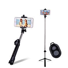 Perche de Selfie Sans Fil Bluetooth Baton de Selfie Extensible de Poche Universel S24 pour Google Pixel 3 Noir