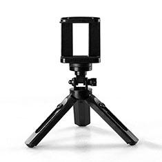 Perche de Selfie Trepied Sans Fil Bluetooth Baton de Selfie Extensible de Poche Universel T02 pour Wiko Cink Five Noir