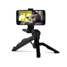 Perche de Selfie Trepied Sans Fil Bluetooth Baton de Selfie Extensible de Poche Universel T06 pour Wiko Cink Five Noir
