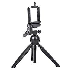 Perche de Selfie Trepied Sans Fil Bluetooth Baton de Selfie Extensible de Poche Universel T08 pour Orange Nura Noir