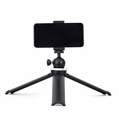 Perche de Selfie Trepied Sans Fil Bluetooth Baton de Selfie Extensible de Poche Universel T14 Noir