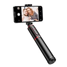 Perche de Selfie Trepied Sans Fil Bluetooth Baton de Selfie Extensible de Poche Universel T23 Noir