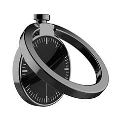 Support Bague Anneau Support Telephone Magnetique Universel Z05 pour Oneplus 7 Noir