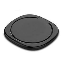 Support Bague Anneau Support Telephone Magnetique Universel Z07 pour Oneplus 7 Noir