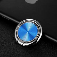 Support Bague Anneau Support Telephone Magnetique Universel Z11 pour LG Stylus 3 Bleu
