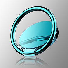 Support Bague Anneau Support Telephone Magnetique Universel Z16 pour Samsung S5230 Tocco Lite Bleu Ciel