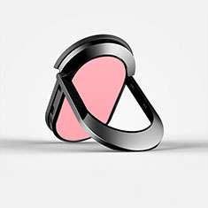 Support Bague Anneau Support Telephone Universel R07 pour Xiaomi Mi 8 Pro Global Version Rose