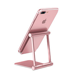 Support de Bureau Support Smartphone Universel K20 pour Nokia 8110 2018 Or Rose